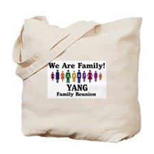 YANG reunion (we are family) Tote Bag