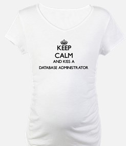 Keep calm and kiss a Database Ad Shirt