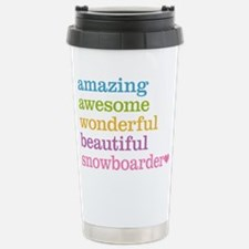 Snowboarder Travel Mug