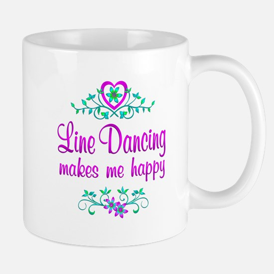 Line Dancing Happy Mug