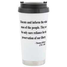 Cute Teacher quotations Travel Mug