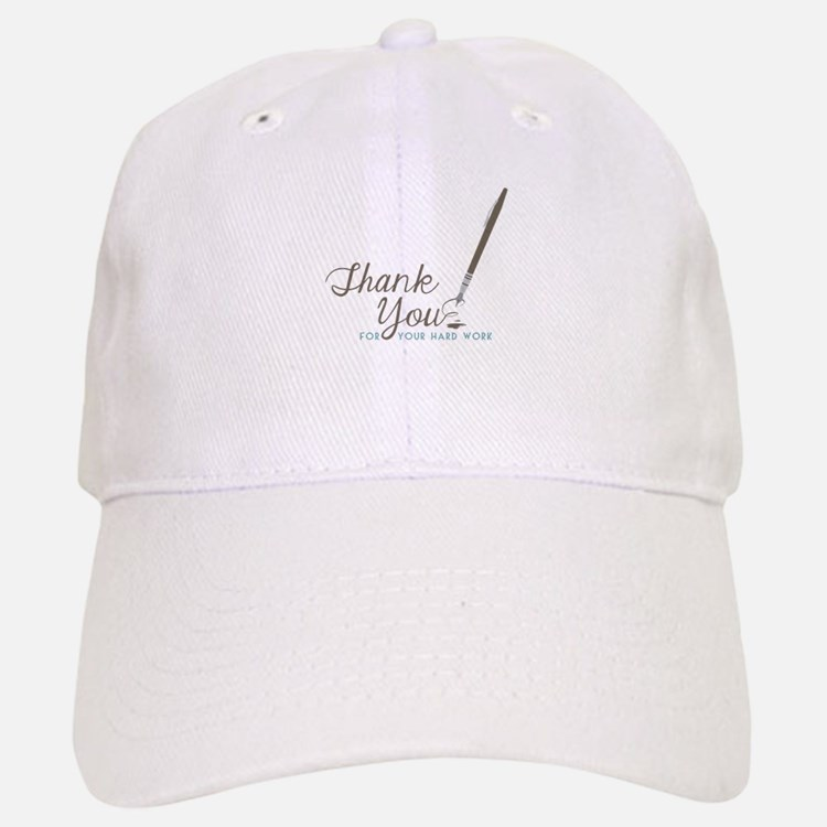 Thank You For Work Baseball Baseball Baseball Cap