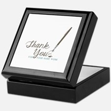 Thank You For Work Keepsake Box