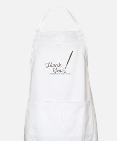 Thank You For Work Apron