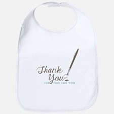 Thank You For Work Bib