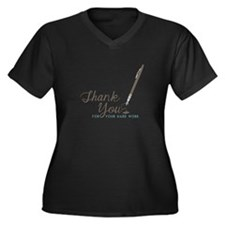 Thank You For Work Plus Size T-Shirt