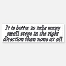 Right direction - Sticker (Bumper)