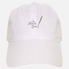 Big Thank You Baseball Baseball Baseball Cap