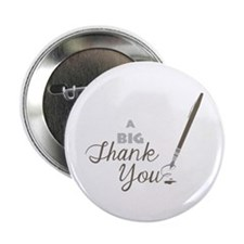 """Big Thank You 2.25"""" Button (100 pack)"""