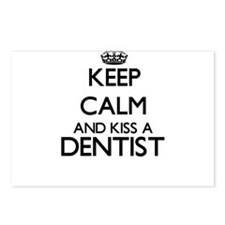 Keep calm and kiss a Dent Postcards (Package of 8)