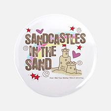 """HIMYM Sandcastles 3.5"""" Button"""