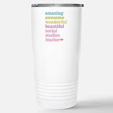 Social Studies Teacher Travel Mug