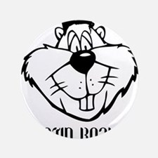 """Justin Beaver 3.5"""" Button (100 pack)"""