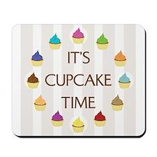 Cupcake Time Mousepad