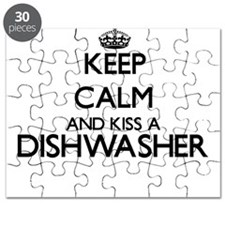 Keep calm and kiss a Dishwasher Puzzle