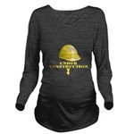 baby-under-construction Long Sleeve Maternity T-Sh