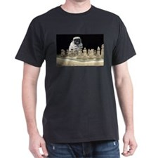 Sexy Pug Playing Chess T-Shirt