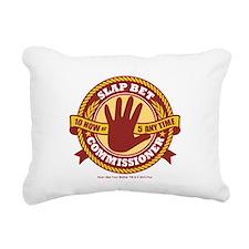 HIMYM Commissioner Rectangular Canvas Pillow
