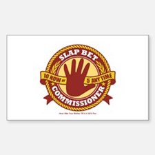 HIMYM Commissioner Decal