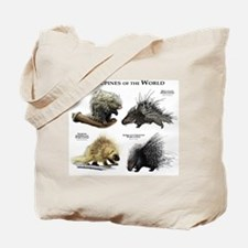 Porcupines of the World Tote Bag