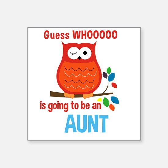 Bold Owl - New Aunt Sticker