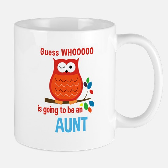 Bold Owl - New Aunt Mugs