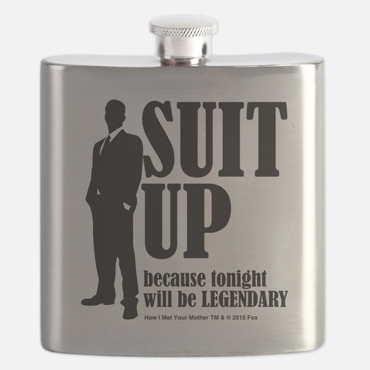 HIMYM Suit Flask