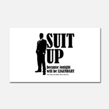 HIMYM Suit Car Magnet 20 x 12