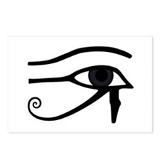 Right Eye Of Horus (Ra) Postcards (Package of 8)