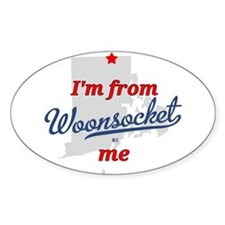I'm from Woonsocket, me Decal