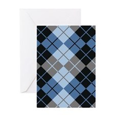 Argyle Design Greeting Cards