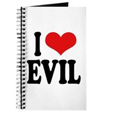 I Love Evil Journal