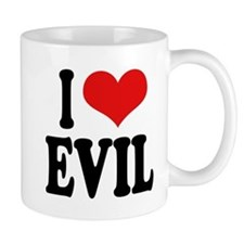 I Love Evil Mug