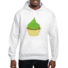 Lime Frosting Cupcake Hoodie
