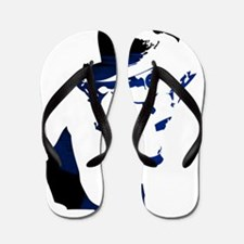 Gangster girl Flip Flops