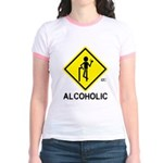 Alcoholic Jr. Ringer T-Shirt