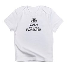 Keep calm and kiss a Forester Infant T-Shirt