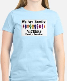 VICKERS reunion (we are famil T-Shirt