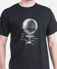 Steampunk Hot Air Balloon T-Shirt