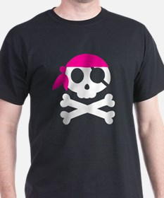 Jaunty Skull and Cross Bones T-Shirt