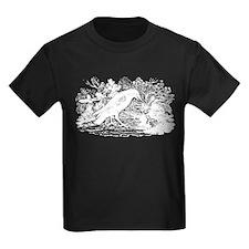 Antique Crow Woodcut T-Shirt