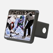 Cute Hockey player Hitch Cover