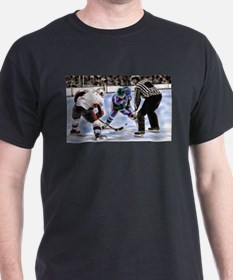 Ice Hockey Players and Referee T-Shirt