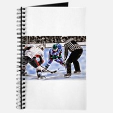 Ice Hockey Players and Referee Journal