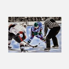 Ice Hockey Players and Referee Magnets