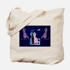 Barbier Proposal! Love In The Stars Tote Bag