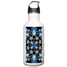 Fragments Pattern Water Bottle
