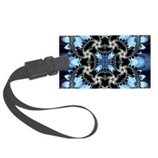 Fragments Pattern Luggage Tag