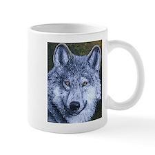 Cute Gray wolf Mug