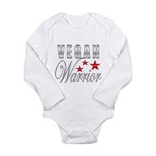 Unique Vegan Long Sleeve Infant Bodysuit